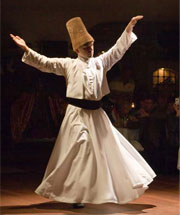 istanbul in whirling dervishes show