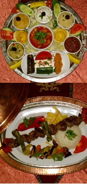 sultana's  turkish night show with dinner and belly dance